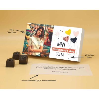 Photo Valentine Chocolates   Butter Scotch 6Pcs  Valentaine Day 09BSNPB