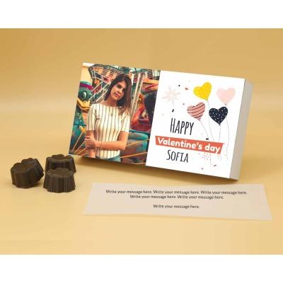 Photo Valentine Chocolates | Fruit  Nuts 12Pcs  Valentaine Day 09FNNPA