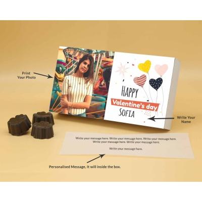 Photo Valentine Chocolates | Fruit  Nuts 12Pcs  Valentaine Day 09FNNPB