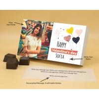 Photo Printed Chocolate Box With Almonds 12Pcs  Valentaine Day 09RANPB
