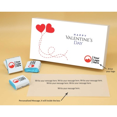 Corporate Valentine Gift | Wrappper Printed Chocolates 18pcs  Valentaine Day 10FNWP2