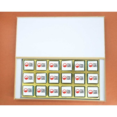 Corporate Valentine Gift | Wrappper Printed Chocolates 18pcs  Valentaine Day 10FNWP6