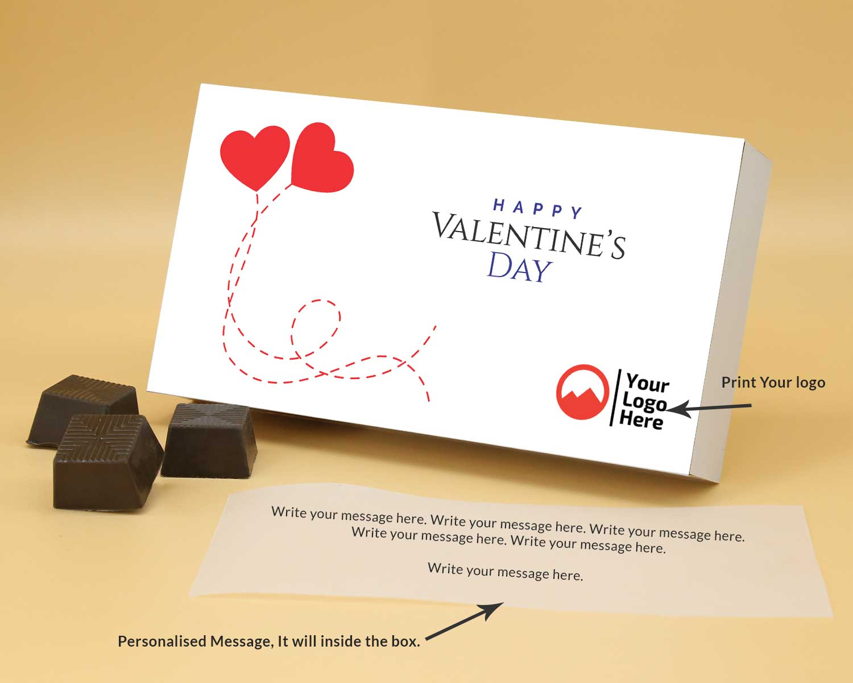 Corporate Valentine Gift | Almond Chocolates 12Pcs  Valentaine Day 10RANP2