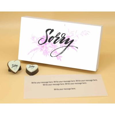 Sorry Chocolates in Heart Shape 12 Pcs  Valentaine Day 14HAPA