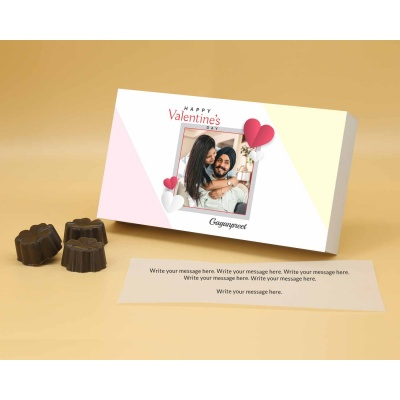 Best Customised Choclates Box | Fruit  Nuts 18Pcs  Valentaine Day 15FNNPA