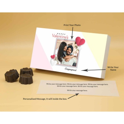 Best Customised Choclates Box | Fruit  Nuts 18Pcs  Valentaine Day 15FNNPB