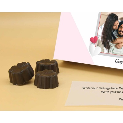 Best Customised Choclates Box | Fruit  Nuts 18Pcs  Valentaine Day 15FNNPC