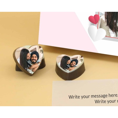Photo Printed Valentine Gift 6 Pcs  Valentaine Day 15HAPC