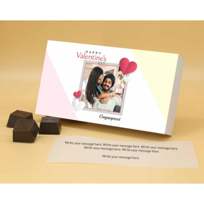 Couple Photo Valentine Gift   Almond Chocolates 18Pcs  Valentaine Day 15RANPA