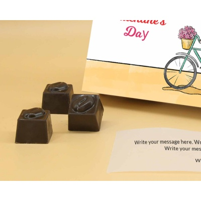 Chocolate Box For Valentine | Butter Scotch 18Pcs  Valentaine Day 16BSNPC