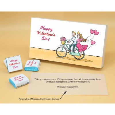 Romantic Chocolate Gift | Wrappper Printed 18pcs  Valentaine Day 16FNWPB