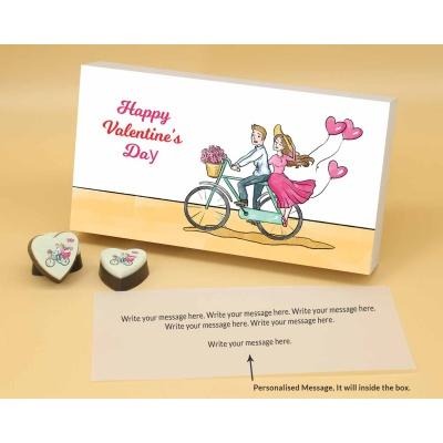 Romantic Couple Heart Chocolates 18 Pcs  Valentaine Day 16HAPB