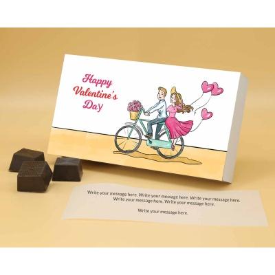 Romantic Chocolate Gift   Roasted Almonds 12Pcs  Valentaine Day 16RANPA