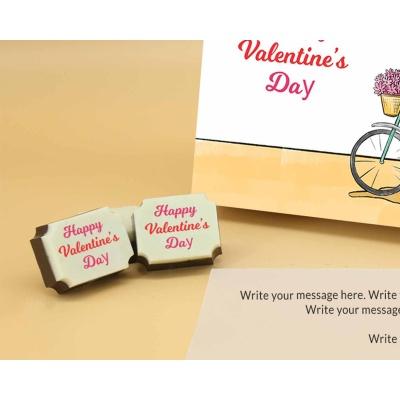 Romantic Couple Chocolates 12 Pcs  Valentaine Day 16RAPC 1
