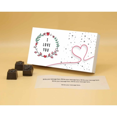 Gift For Couples   Butter Scotch Chocolates 12Pcs  Valentaine Day 17BSNPA