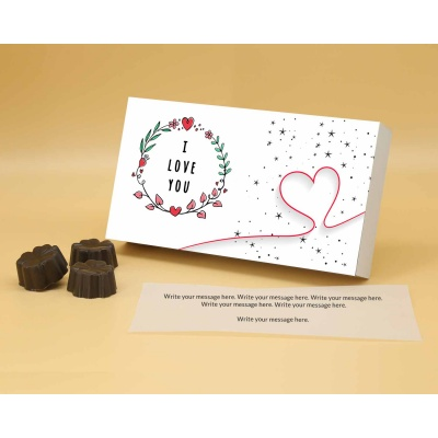 Gift For Couples   Fruit  Nuts Chocolates 6Pcs  Valentaine Day 17FNNPA