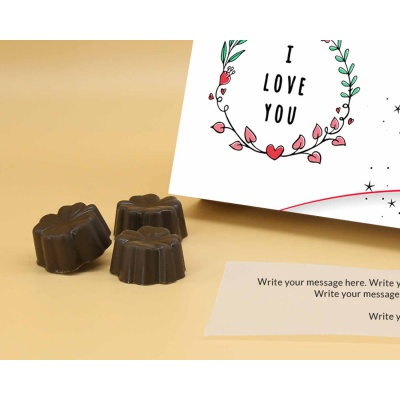Gift For Couples   Fruit  Nuts Chocolates 6Pcs  Valentaine Day 17FNNPC