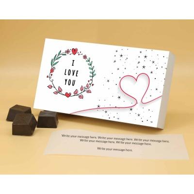 Customised Chocolates For Valentine | Almonds 6Pcs  Valentaine Day 17RANPA