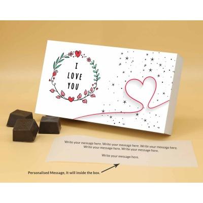 Customised Chocolates For Valentine | Almonds 6Pcs  Valentaine Day 17RANPB