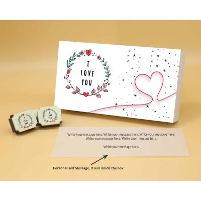 Chocolates For Couple 6 Pcs  Valentaine Day 17RAPB