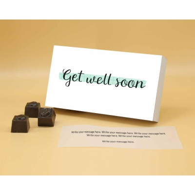 Get Well Soon Chocolates   Butter Scotch 12Pcs  Valentaine Day 20BSNPA