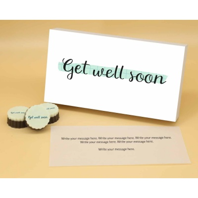 Get Well Soon   Circle Chocolates 12Pcs  Valentaine Day 20CAPA