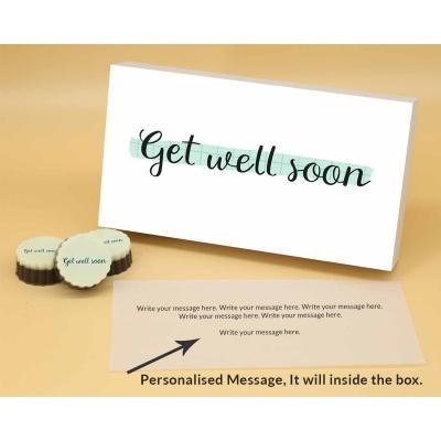 Get Well Soon   Circle Chocolates 12Pcs  Valentaine Day 20CAPB