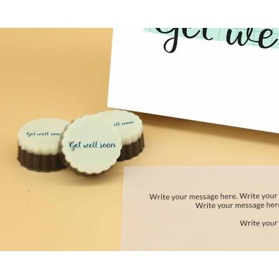 Get Well Soon   Circle Chocolates 12Pcs  Valentaine Day 20CAPC