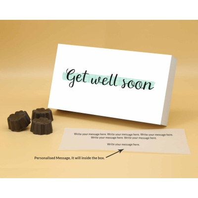 Get Well Soon Chocolates | Fruit  Nuts 12Pcs  Valentaine Day 20FNNPB