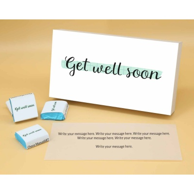Get Healthy Soon | Wrapper Printed Chocolate Box 12pcs  Valentaine Day 20FNWPA