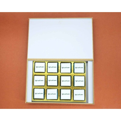 Get Healthy Soon | Wrapper Printed Chocolate Box 12pcs  Valentaine Day 20FNWPE
