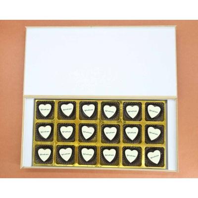 Get Well Soon Chocolates 18 Pcs  Valentaine Day 20HAPF