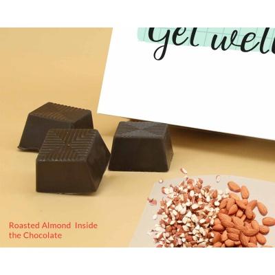 Get Healthy Soon | Almond Chocolate Box 18Pcs  Valentaine Day 20RANPC