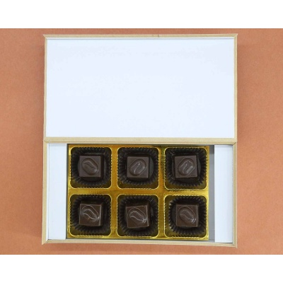 Personalised Valentine Gift | Butter Scotch 6Pcs  Valentaine Day 21BSNPD