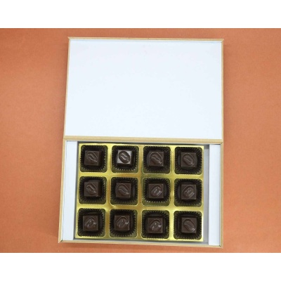 Customised Gift | Butter Scotch Chocolates 12Pcs  Valentaine Day 21BSNPE