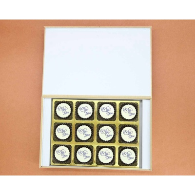 Get Well Soon   Circle Chocolates 12Pcs  Valentaine Day 21CAPE