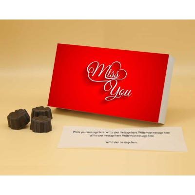 Missing You Gift   Fruit  Nuts Chocolates 6Pcs  Valentaine Day 21FNNPA