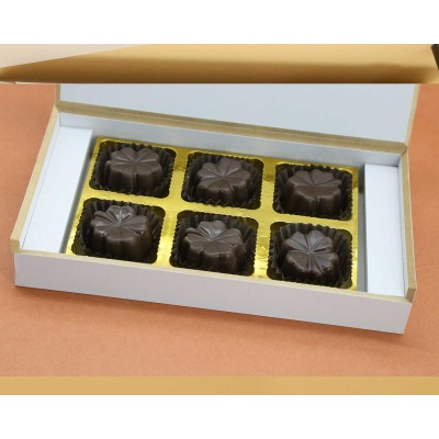 ChocolatesFruit  Nuts Flavoured 6Pcs  Valentaine Day 21FNNPD