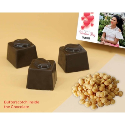 Chocolates Butter Scotch Flavoured 12Pcs  ValentaineDay02BSNPC