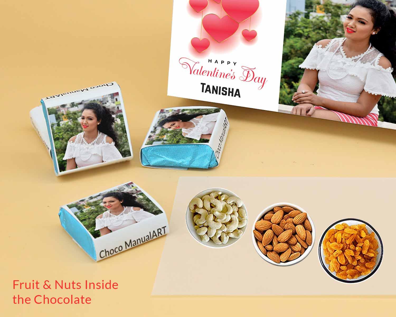 Printed Chocolate in Mumbai Maharashtra chocolate box ValentaineDay02FNWPC