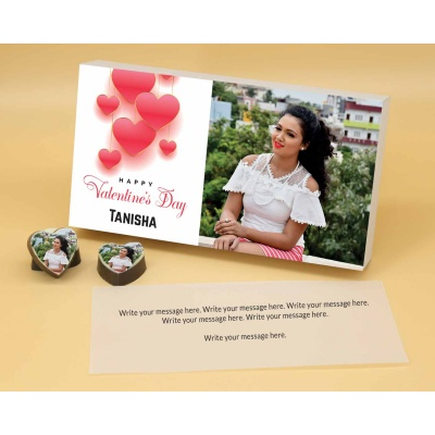 Chocolate Hearts For Valentine Gift 18 Pcs  ValentaineDay02HAPA