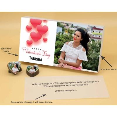 Chocolate Hearts For Valentine Gift 18 Pcs  ValentaineDay02HAPB
