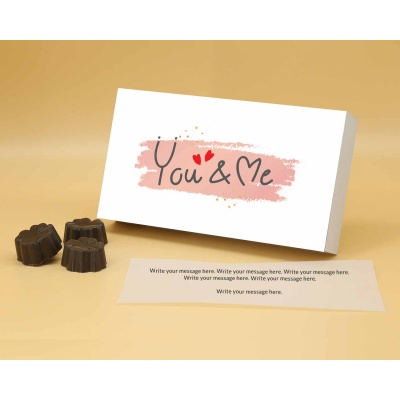 Valnetines Day Gift | Fruit  Nuts Chocolates 6pcs  ValentaineDay11FNNP6A