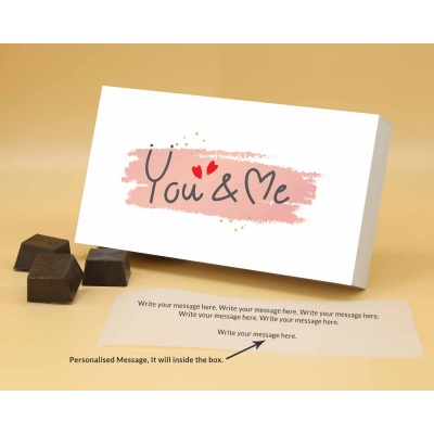 You  Me Valentine Gift   Almond Chocolates 6Pcs  ValentaineDay11RANP6B