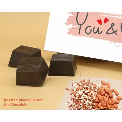 You  Me Valentine Gift   Almond Chocolates 6Pcs  ValentaineDay11RANP6C