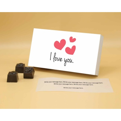 I Love You Gift | Butter Scotch Chocolates 6Pcs  ValentaineDay12BSNP6A