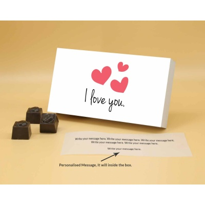 I Love You Gift | Butter Scotch Chocolates 6Pcs  ValentaineDay12BSNP6B