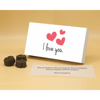 I Love You Gift   Fruit  Nuts Chocolates 18Pcs  ValentaineDay12FNNPA