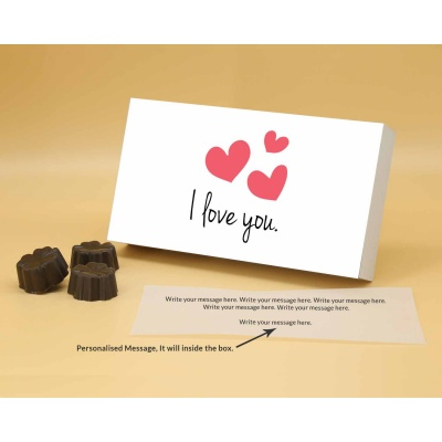 I Love You Gift   Fruit  Nuts Chocolates 18Pcs  ValentaineDay12FNNPB
