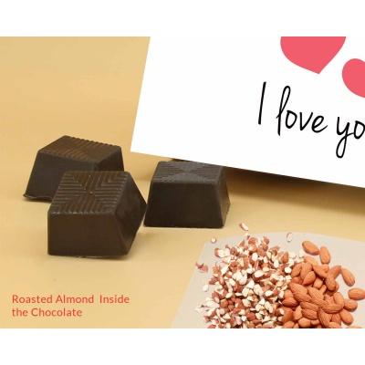 Love You Gift For Valentine | Almond Chocolates 18Pcs  ValentaineDay12RANPC